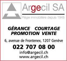 Argecil SA - Gestion d'immeubles - 1207 Genève