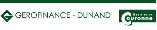 GEROFINANCE - DUNAND